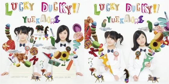 "Ottende YuiKaori single er ""LUCKY DUCKY!!"""