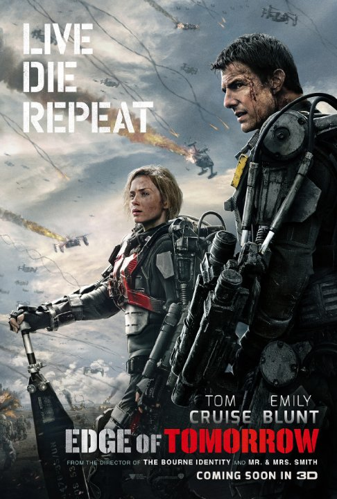 """Hollywood udgaven af """"All You Need Is Kill"""" / """"Edge of Tomorrow"""""""