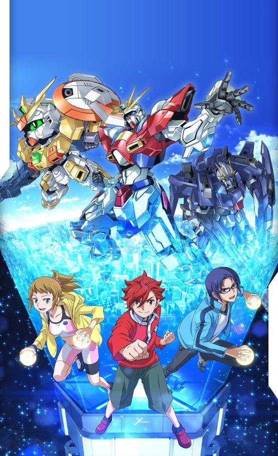 Gundam Build Fighters Try trailer