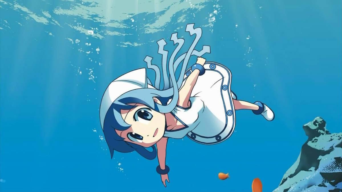 Ugens wallpaper: Ika musume