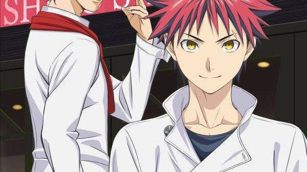 "Shokugeki no Soma: Ni no Sara ""Stagiaire Arc"" TV anime billede"