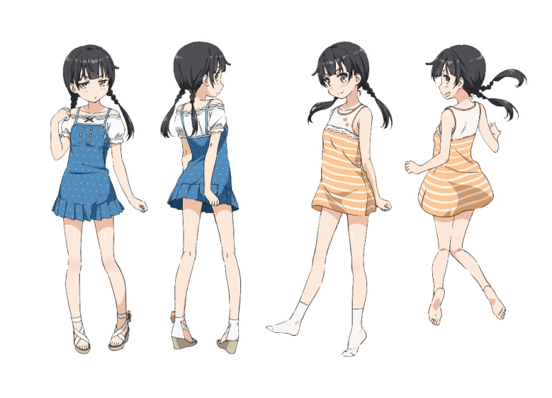 One Room Vinter 2017 Anime Character Designs