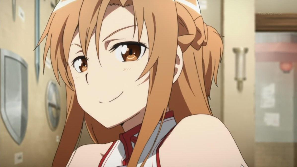 1. Asuna Yuuki (Sword Art Online)