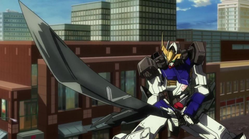 1. Mobile Suit Gundam: Iron-Blooded Orphans