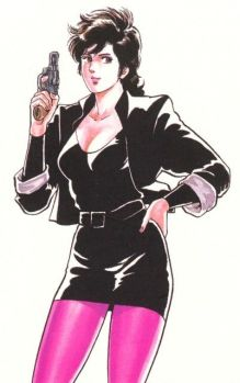 9. / 10. Kaori Makimura (City Hunter)