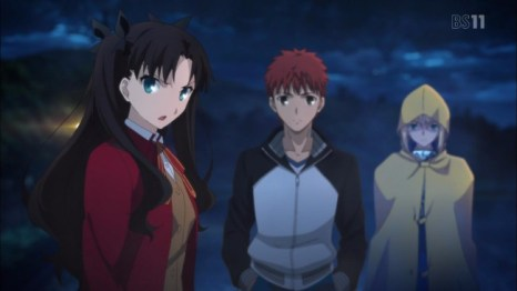 9. Fate/stay night: Unlimited Blade Works