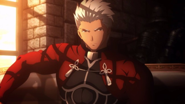 6. Archer (Fate/stay night: Unlimited Blade Works)