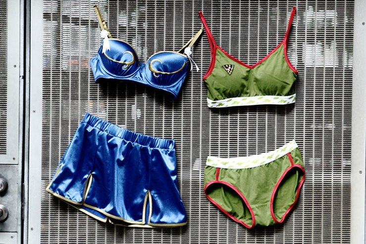"""""""Street Fighter"""" Chun-Li og Cammy lingerie"""