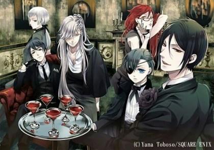 5. Yana Toboso – Black Butler (389)