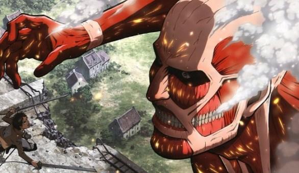 3. Attack on Titan (Shingeki no Kyojin) – 240