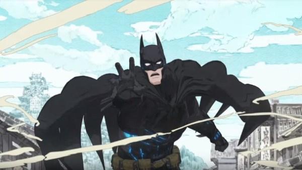 Batman Ninja anime film trailer