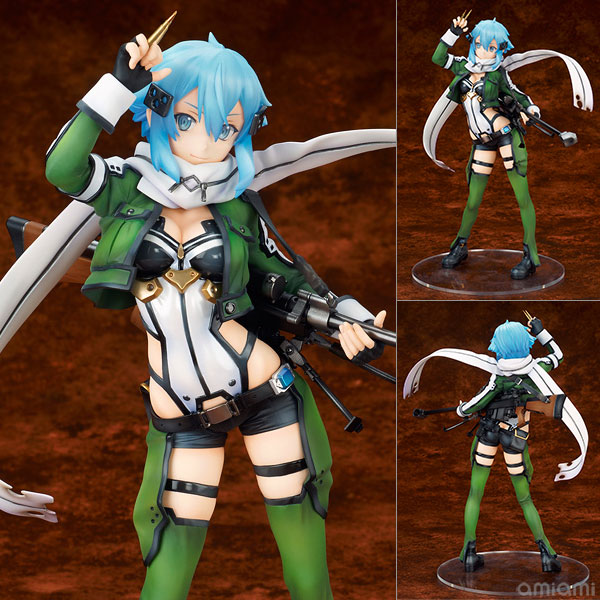 Sword Art Online the Movie: Ordinal Scale - Sinon 1/7 Figur