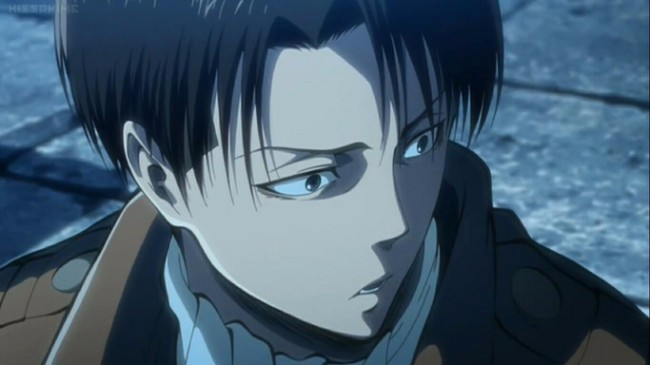 5. Levi Ackerman (Attack on Titan)