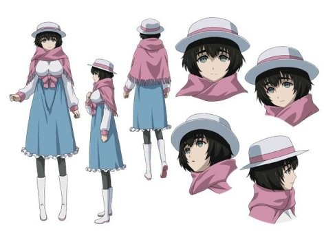 """""""Steins;Gate 0"""" TV anime nyt nøgle billede og character designs"""