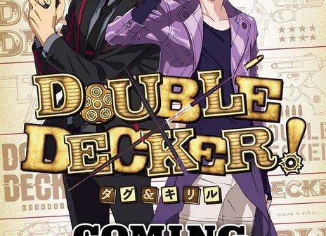 Double Decker! Anime Video fremviser hoved rollernes stemmer