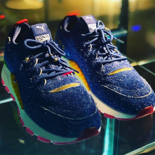 Pumas ny Sonic the Hedgehog sneakers
