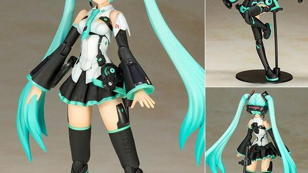 Frame Arms Girl - Frame Music Girl Hatsune Miku Plastik Model