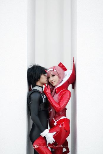 Darling in the FranXX cosplay set med Stella Chuu og Mrdustinn