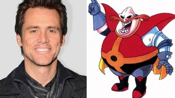 Jim Carrey i rollen som Sonic The Hedgehog skurken Robotnik