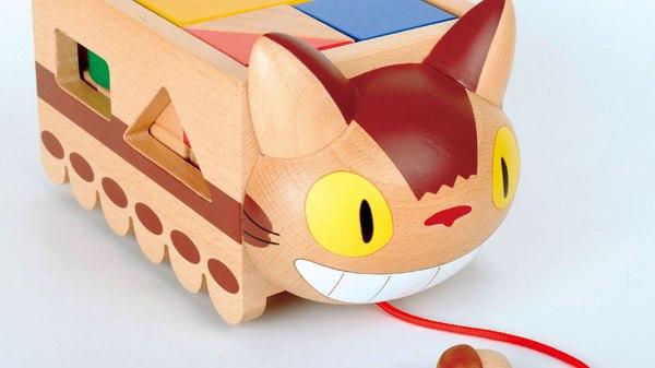 My Neighbor Totoro Cat Bus Toy Block