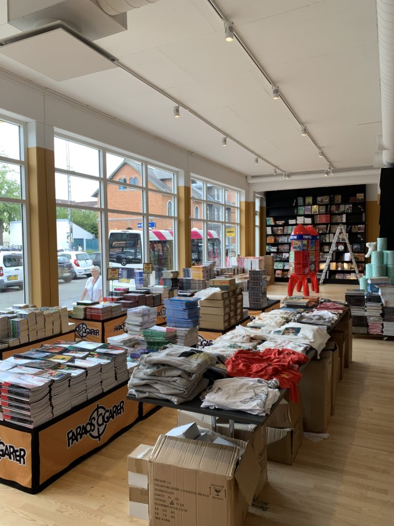 Den ny Faraos Cigarer butik i Odense besøgt
