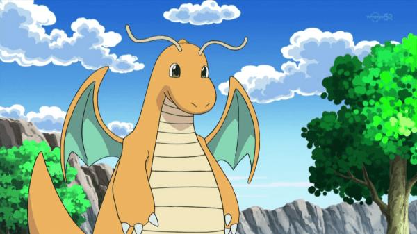 10. Dragonite / Dragoran / Kairyu (カイリュー)