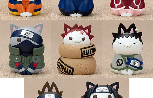 Nyaruto! NARUTO Konoha's Cheerful Cats Part 8Pack BOX