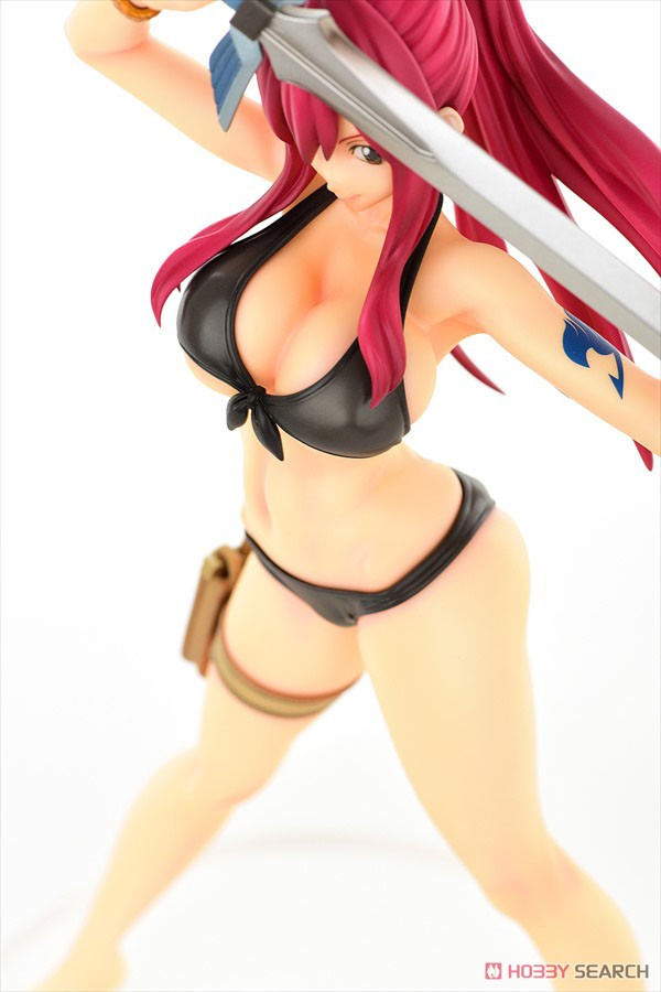 Fairy Tail - Erza Scarlet Swimsuit Gravure Style