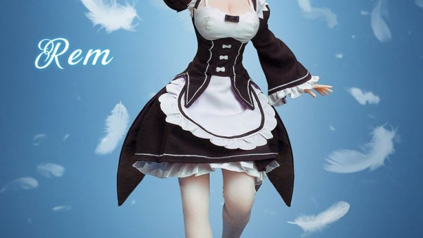Re:Zero -Starting Life in Another World- Rem Seamless Action Figure