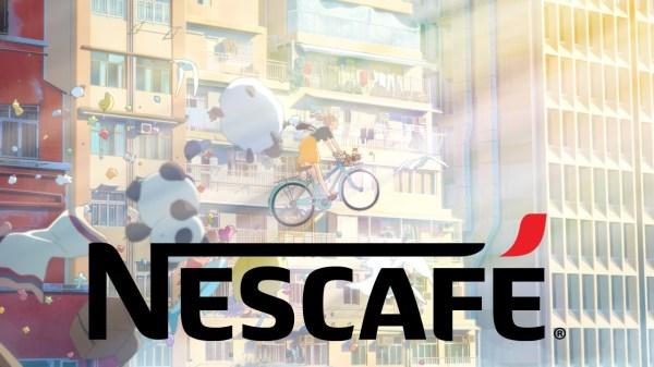 Nescafe anime reklame med Hong Kong af folkene bag Hungry Days reklamerne