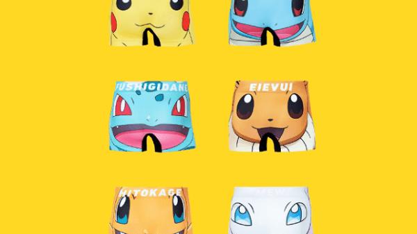 Pokémon undertøjs shorts