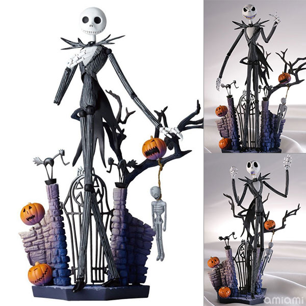 Nightmare Before Christmas Legacy of Revoltech LR-058Jack Skellington Glow-in-the-Dark Color ver.