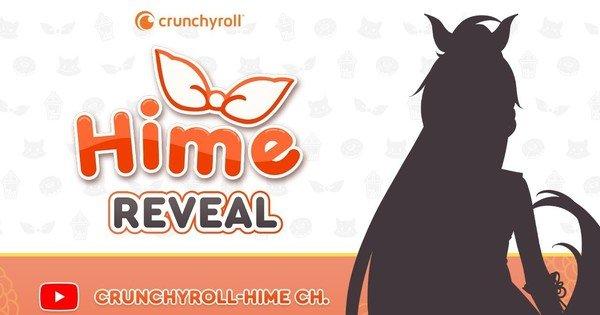 Crunchyroll-Hime starter Virtual YouTuber kanal