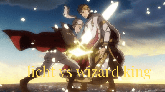 licht vs wizard king full fight