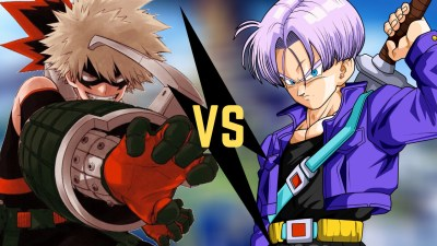 Bakugo Vs trunks