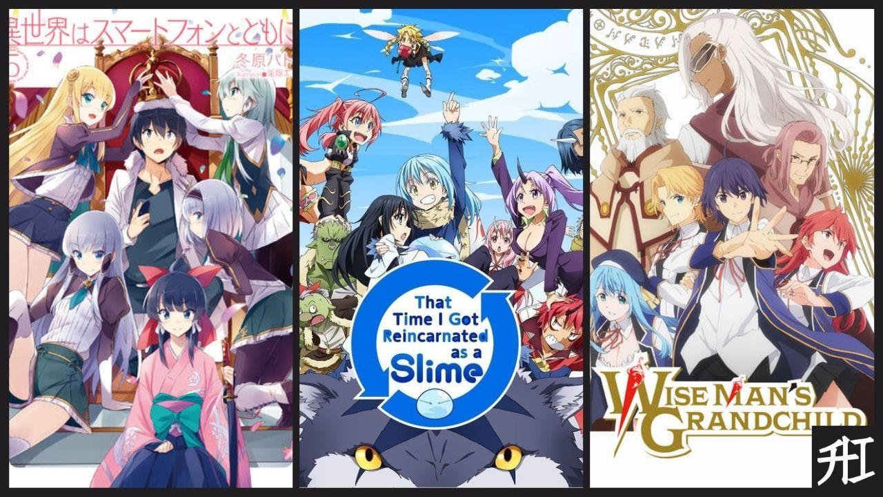 Top Anime/Manga Similar To That Time I Got Reincarnated As A Slime