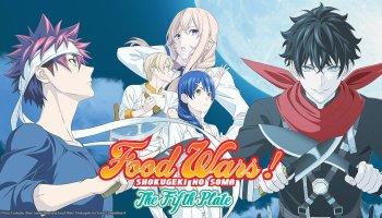 Netflix India Streams Food Wars! Shokugeki no Soma: The Fifth Plate Anime