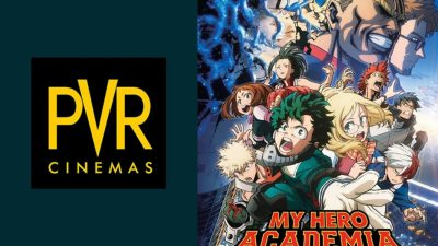 PVR Pictures Announces My Hero Academia: Two Heroes Releasing 12th February