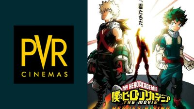 PVR Pictures Announces My Hero Academia: Heroes Rising Releasing 12th March