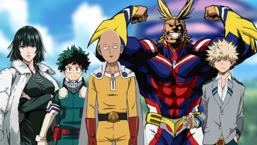 What If One Punch Man and My Hero Academia are from one Universe
