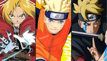 Anime/Manga like Naruto Series