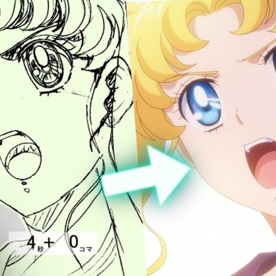 Netflix YouTube Shares Sailor Moon Eternal Films' Key Animation Drawing Behind Scenes