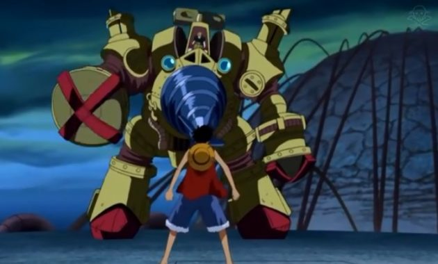 One Piece Movie 7 The Giant Mechanical Soldier of Karakuri Castle