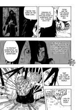 Sasuke attacking on madara