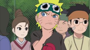 Naruto fights before Sasuke