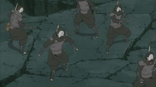 Mist ninja Defeated by Obito