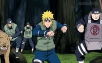 Cloud ninja and Leaf ninja