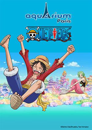One Piece à l'Aquarium de Paris