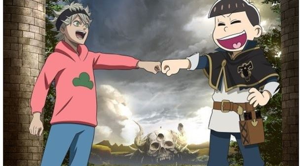 Quand Osomatsu-san s'invite dans Black Clover
