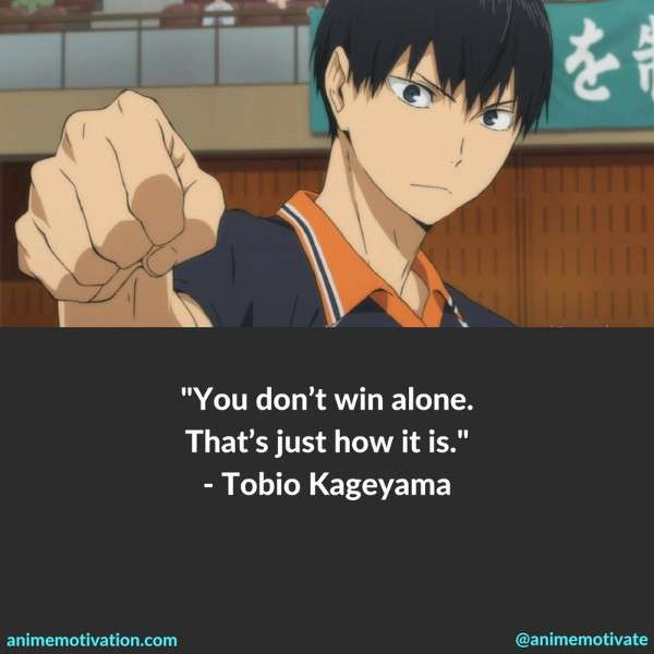 51 haikyuu quotes about teamwork